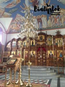 Ikonostas cerkwi w Supraślu