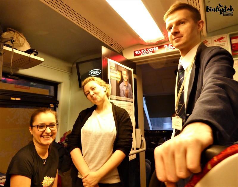 pociąg do Kowna