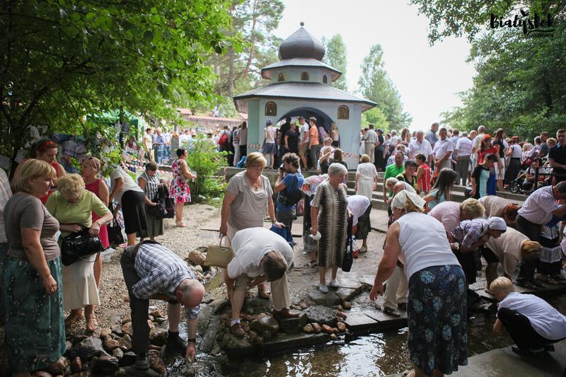 źródełka z uzdrawiającą wodą na Podlasiu