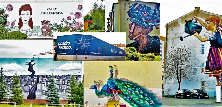 Murale w Białymstoku