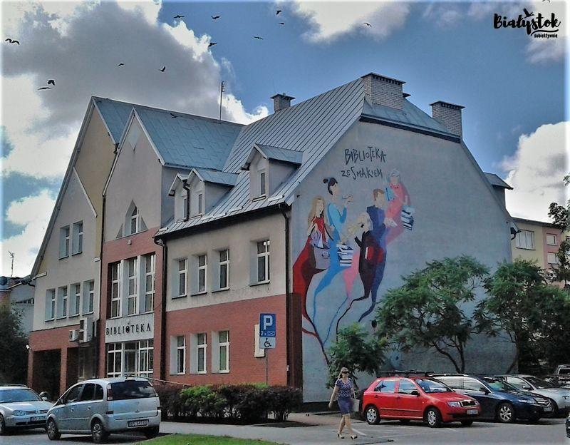 Murale w Suwałkach