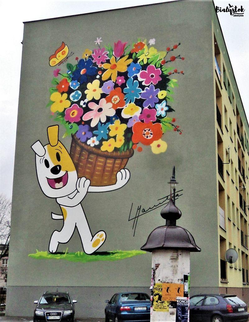 Murale w Suwałkach fot. Barbara Kowalewska