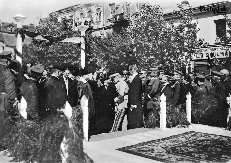 Piłsudski w Białymstoku