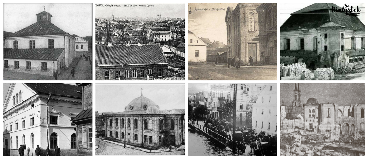 Synagogues in Bialystok.