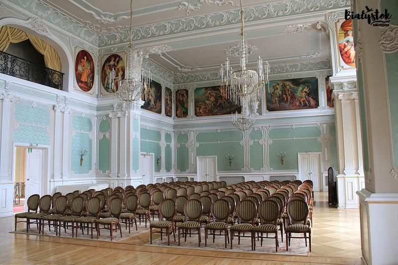 Pałac Branickich zwiedzanie