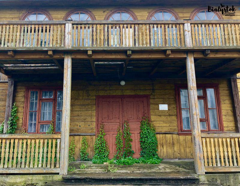 Drewniana architektura na Podlasiu